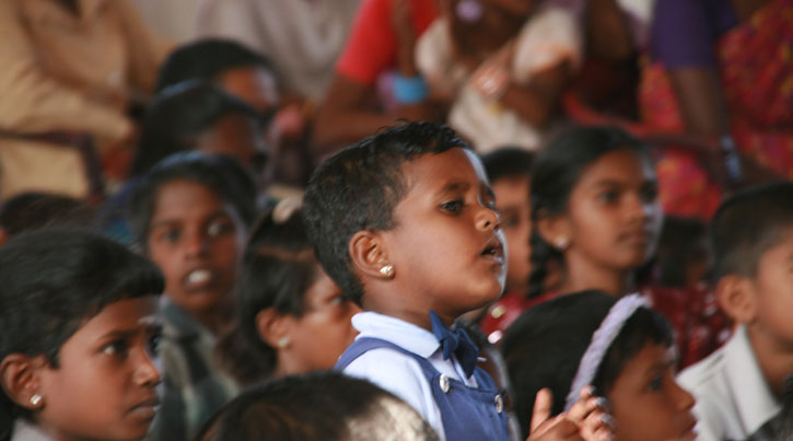 Girl does not want to miss Christmas CCC LoH Sri Lanka